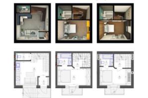 ЖК Трояндовый: планировка 2-комнатной квартиры 68 м²