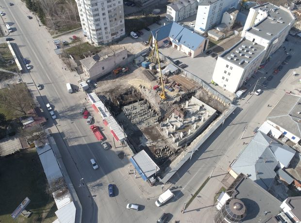 ЖК Централ Хол хід будівництва фото 164066