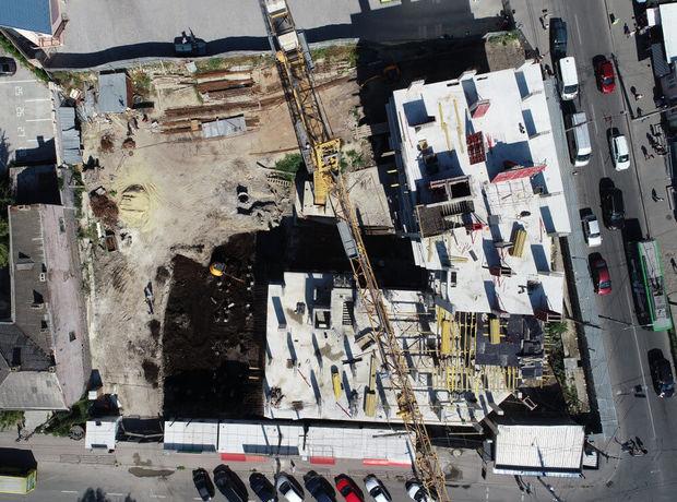 ЖК Централ Хол хід будівництва фото 191609
