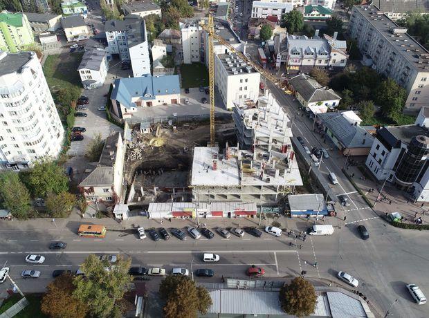 ЖК Централ Хол хід будівництва фото 201703