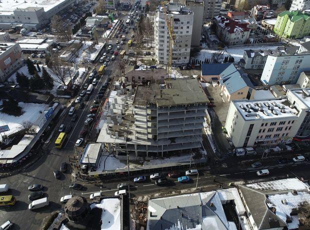 ЖК Централ Хол хід будівництва фото 242910