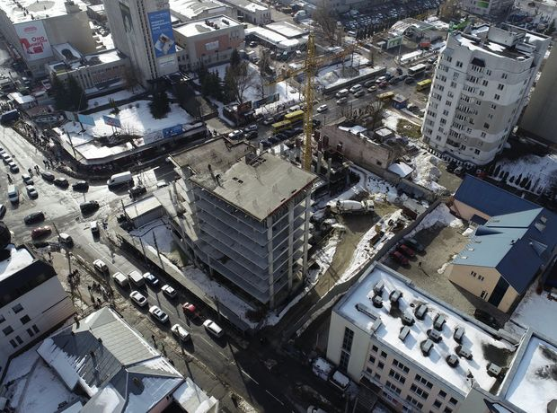 ЖК Централ Хол хід будівництва фото 242911