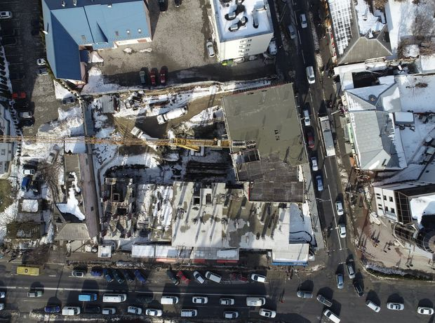 ЖК Централ Хол хід будівництва фото 242915