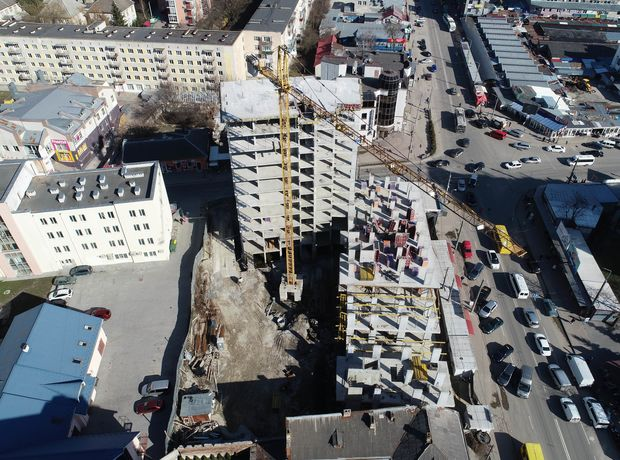 ЖК Централ Хол хід будівництва фото 245148