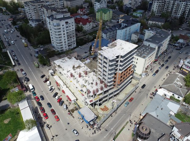 ЖК Централ Хол хід будівництва фото 258229