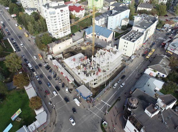 ЖК Централ Холл ход строительства фото 201704