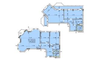ЖК Венский Квартал: планировка 4-комнатной квартиры 151.4 м²