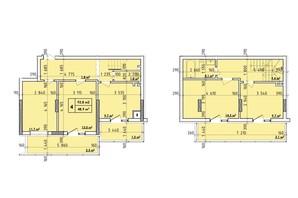 ЖК Венский Квартал: планировка 4-комнатной квартиры 92.8 м²