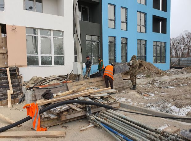 ЖК Vlasna ход строительства фото 220224