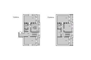 ЖК ZerNova: планировка 5-комнатной квартиры 137 м²