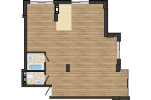 ЖК Золота Ера: планування 3-кімнатної квартири 81.24 м²