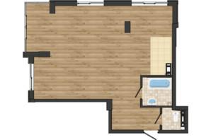 ЖК Золота Ера: планування 2-кімнатної квартири 66.5 м²