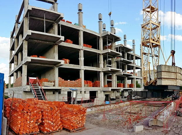ЖК по вул. 3-й мікрорайон 8 хід будівництва фото 23464