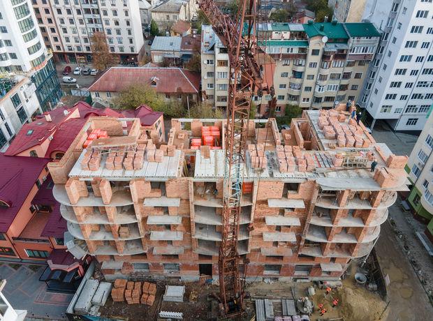 ЖК по вул. П. Орлика 7 хід будівництва фото 216078