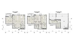 ЖК ул. Евгена Маланюка (Сагайдака), 101: планировка 5-комнатной квартиры 147.46 м²