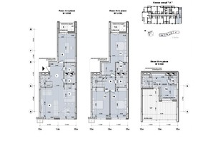 ЖК ул. Евгена Маланюка (Сагайдака), 101: планировка 5-комнатной квартиры 163 м²