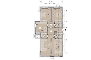 ЖК ул. Евгена Маланюка (Сагайдака), 101: планировка 4-комнатной квартиры 125.02 м²
