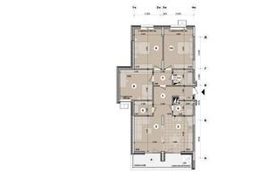 ЖК ул. Евгена Маланюка (Сагайдака), 101: планировка 4-комнатной квартиры 115.19 м²