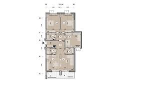 ЖК ул. Евгена Маланюка (Сагайдака), 101: планировка 4-комнатной квартиры 115.28 м²