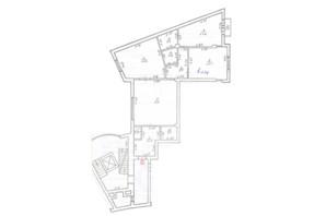 ЖК ул. Рутковича, 11А: планировка 2-комнатной квартиры 158.9 м²