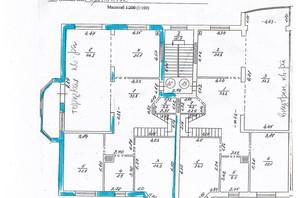 ЖК вул. 1905 року, 1-В: планування 3-кімнатної квартири 165 м²