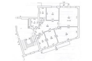ЖК вул. Карпинця, 9А: планування 4-кімнатної квартири 133 м²