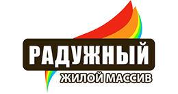 Логотип строительной компании ЖМ РАДУЖНЫЙ