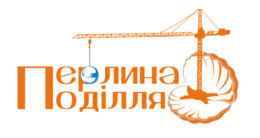 Логотип строительной компании ЖСК Перлина Поділля