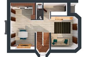 Житловий масив Дайберг: планування 4-кімнатної квартири 150 м²