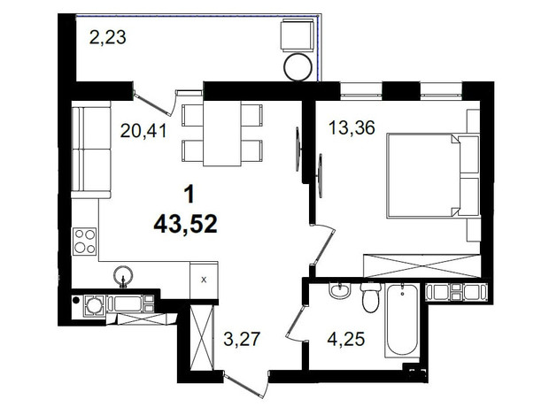 ЖК Tiffany apartments