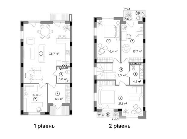 Продаж квартир в Борисполі ул. Радостная