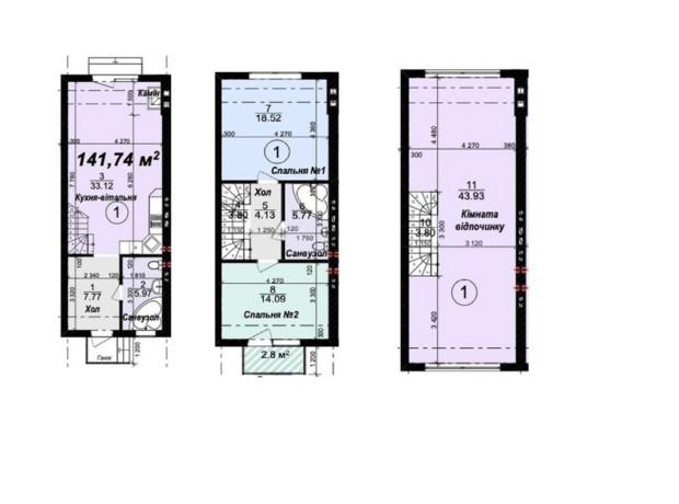 Таунхаус Modern House