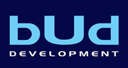 Логотип будівельної компанії bUd development