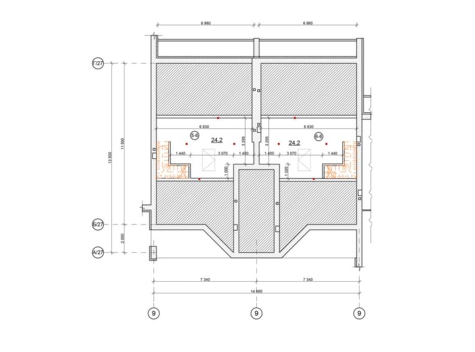 Планировка 3-комнатной квартиры в КГ проул. Пугачёва/ул. Д. Галицкого 115 м², фото 100453