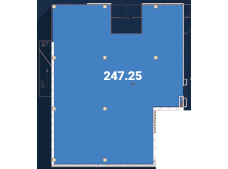 Планировка помещения в Офіс-центр Avila 247.25 м², фото 128743
