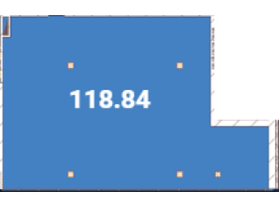 Планировка помещения в Офіс-центр Avila 118.84 м², фото 128756