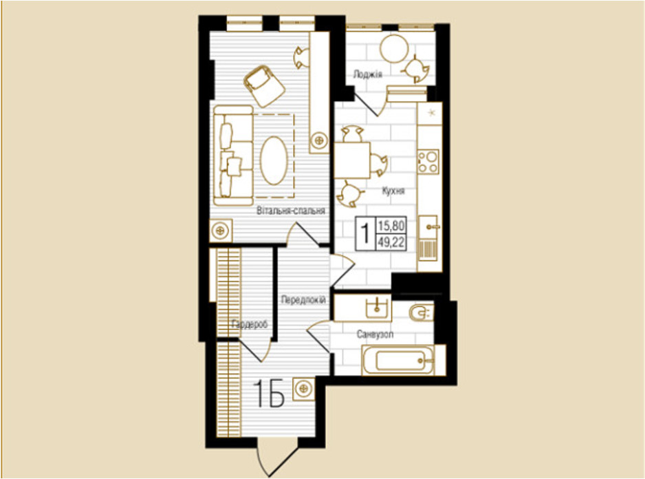 ЖК NEW YORK Concept House планировка 51