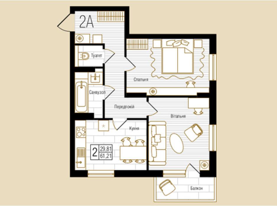 ЖК NEW YORK Concept House планировка 39