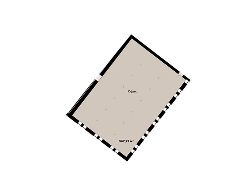 Планування 1-кімнатної квартири в ЖК IT-парк Manufactura Next 347 м², фото 179650