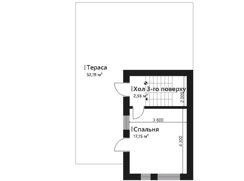 Планировка коттеджа в КГ Renaissance 157.45 м², фото 195430