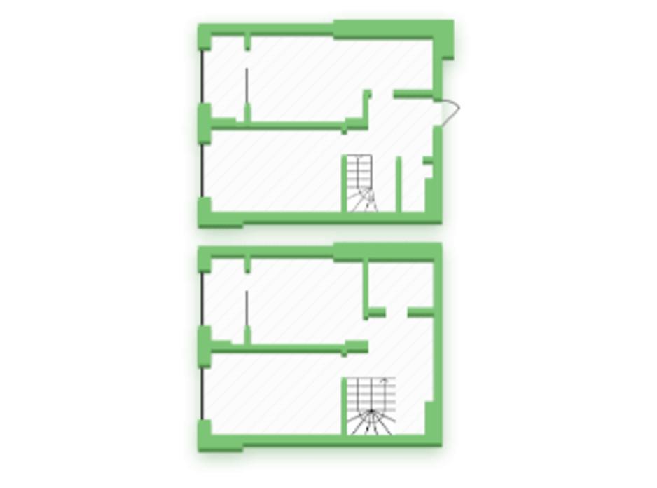 Планування багаторівневої квартири в ЖК Софіївка 86 м², фото 210387
