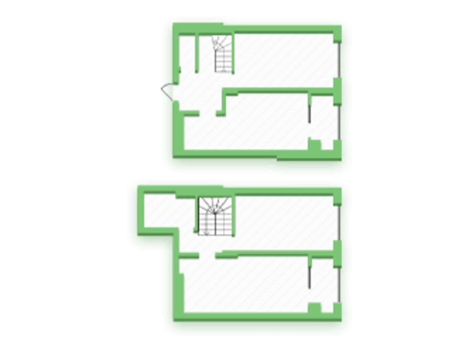 Планування багаторівневої квартири в ЖК Софіївка 93.5 м², фото 210425