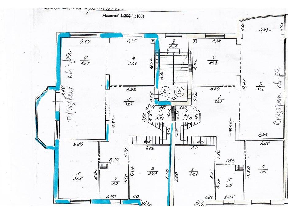 Планування 3-кімнатної квартири в ЖК вул. 1905 року, 1-В 165 м², фото 214887