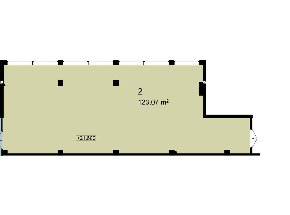 Планировка помещения в Бизнес Центр Q-5  Quoroom Office Metropol 123.07 м², фото 216480