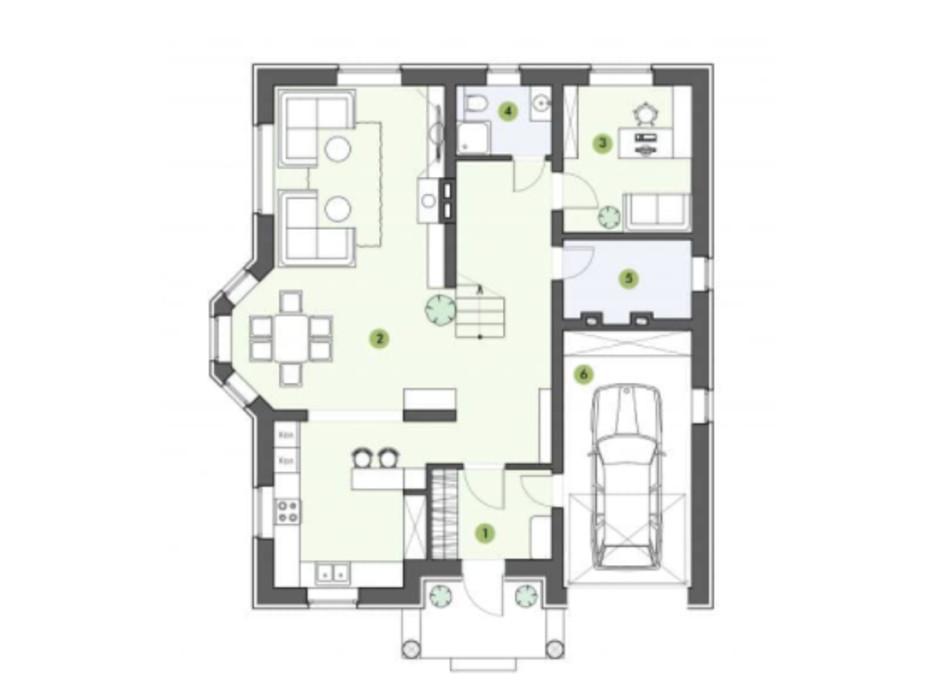 Планування котеджу в КМ Рославичі 210 м², фото 217525