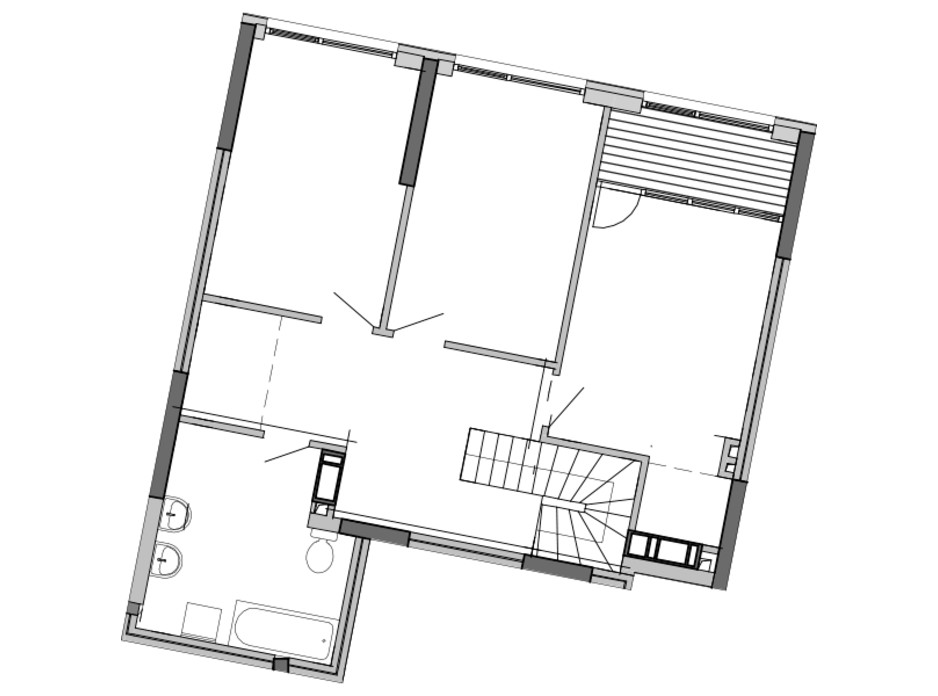Планировка многоуровневой квартиры в ЖК Great 143.9 м², фото 220470