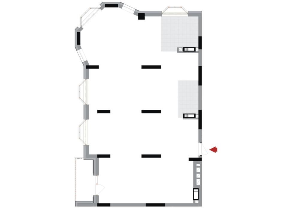Планування 3-кімнатної квартири в ЖК Подол Град Vintage 116.1 м², фото 222309