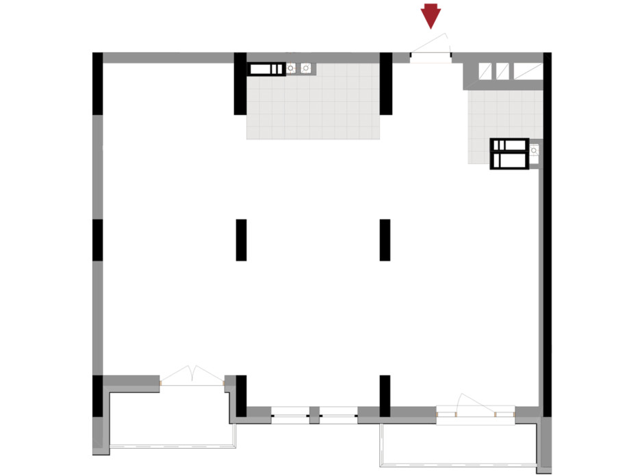 Планування 2-кімнатної квартири в ЖК Подол Град Vintage 79.86 м², фото 222339