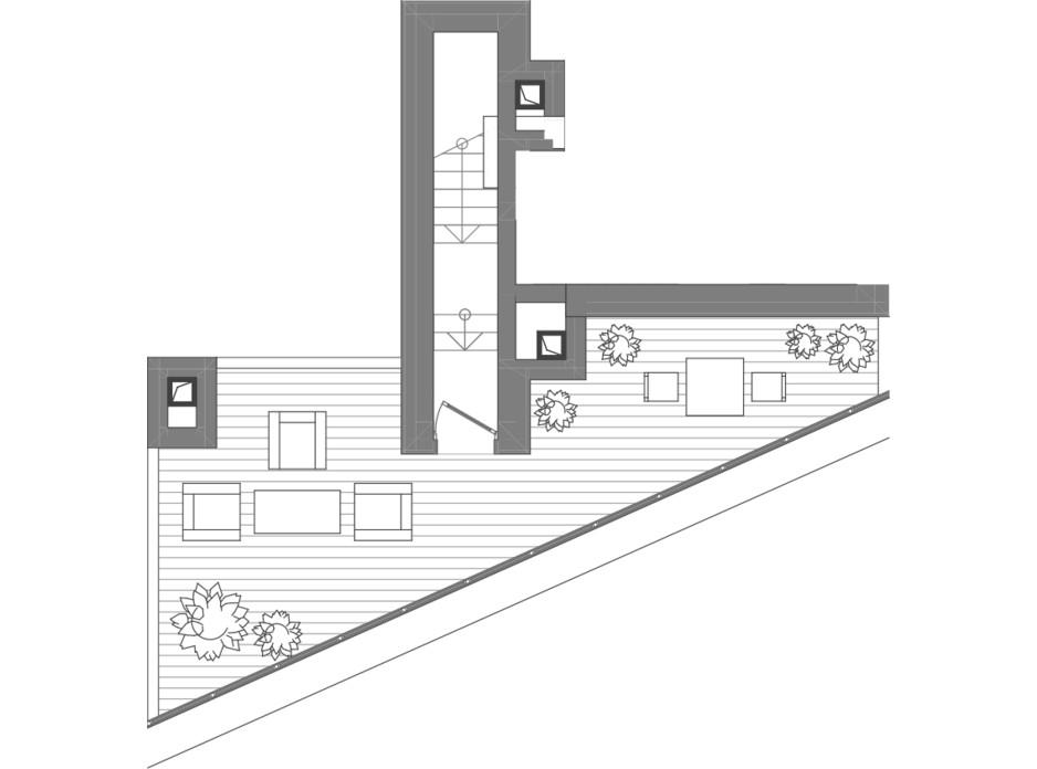 Планировка многоуровневой квартиры в ЖК Creator City 84.71 м², фото 223568