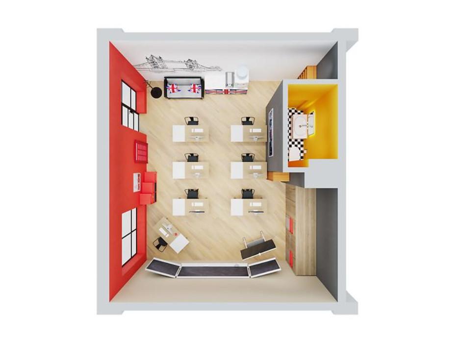 Планування приміщення в ЖК Олексіївський 37.39 м², фото 224776